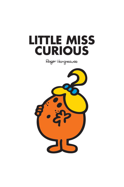 LITTLE MISS CURIOUS PERSONALISED ART PRINT