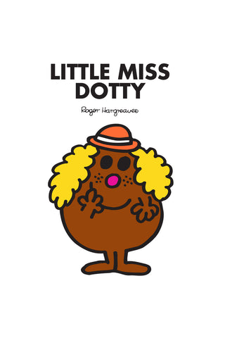 LITTLE MISS DOTTY PERSONALISED ART PRINT