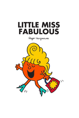 LITTLE MISS FABULOUS PERSONALISED ART PRINT