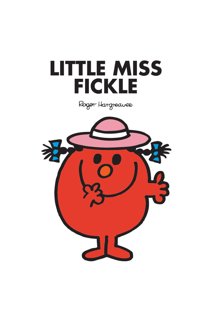 LITTLE MISS FICKLE PERSONALISED ART PRINT