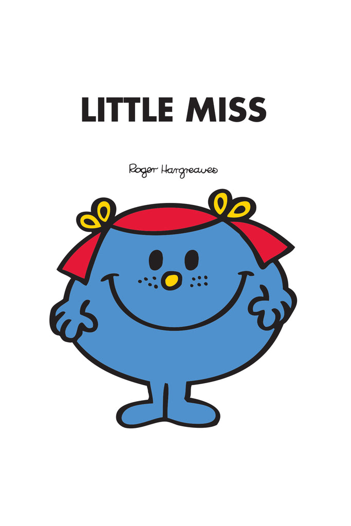 LITTLE MISS GIGGLES PERSONALISED ART PRINT