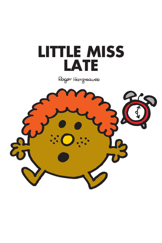 LITTLE MISS LATE PERSONALISED ART PRINT