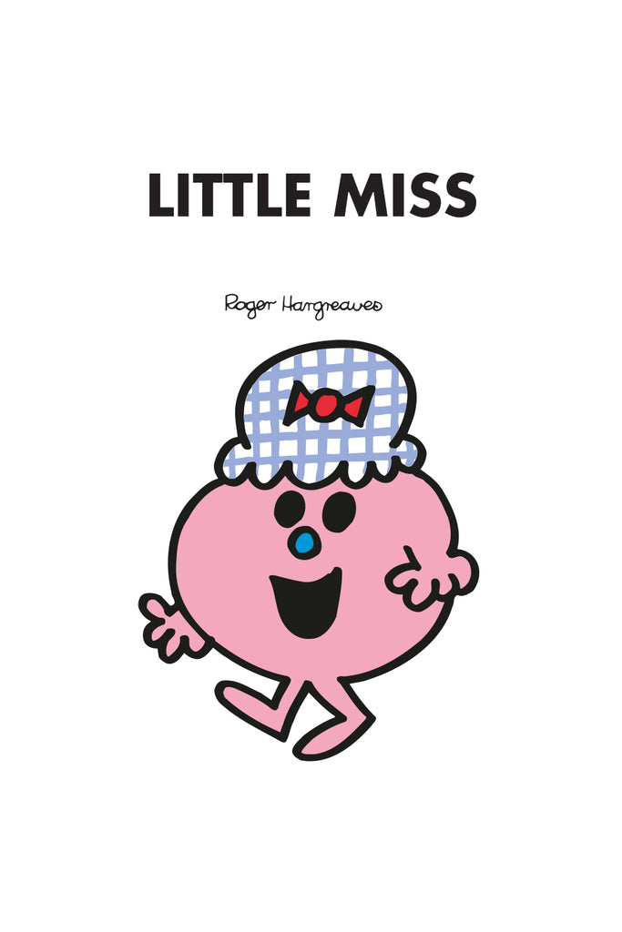 LITTLE MISS LUCKY PERSONALISED ART PRINT