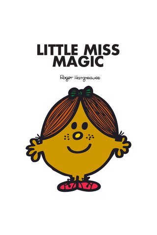 LITTLE MISS MAGIC PERSONALISED ART PRINT