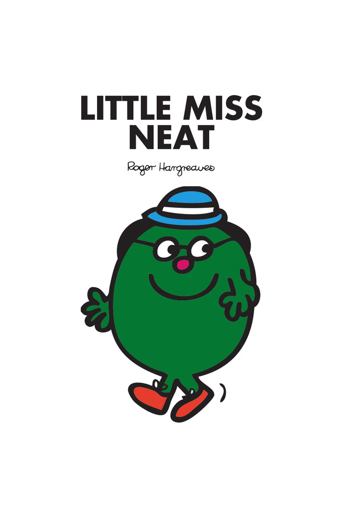 LITTLE MISS NEAT PERSONALISED ART PRINT