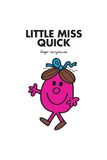 LITTLE MISS QUICK PERSONALISED ART PRINT