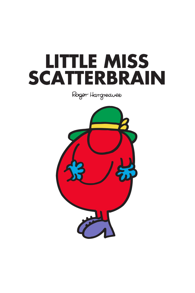 LITTLE MISS SCATTERBRAIN PERSONALISED IMPACT PHONE CASE BY CASETIFY