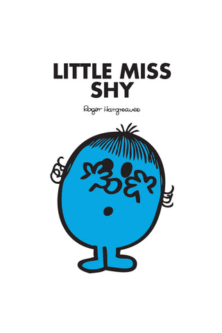 LITTLE MISS SHY PERSONALISED ART PRINT