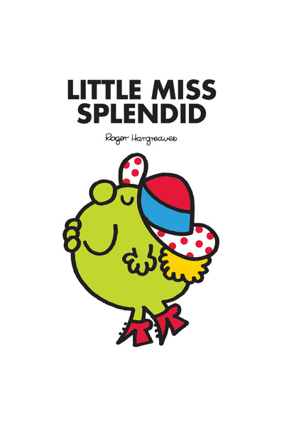 LITTLE MISS SPLENDID PERSONALISED ART PRINT