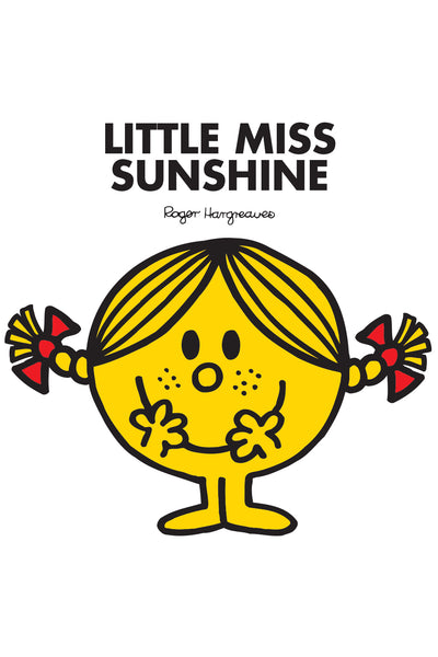LITTLE MISS SUNSHINE PERSONALISED ART PRINT