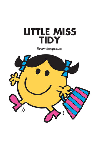 LITTLE MISS TIDY PERSONALISED CHILDREN'S T-SHIRTS