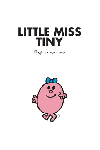 LITTLE MISS TINY PERSONALISED ART PRINT