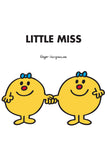 LITTLE MISS TWINS PERSONALISED ART PRINT