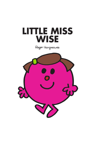 LITTLE MISS WISE PERSONALISED ART PRINT
