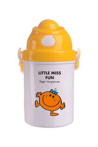 LITTLE MISS FUN PERSONALISED CHILDRENS WATER FLASK