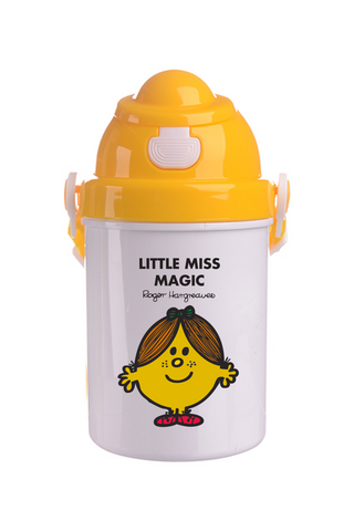 LITTLE MISS MAGIC PERSONALISED CHILDRENS WATER FLASK