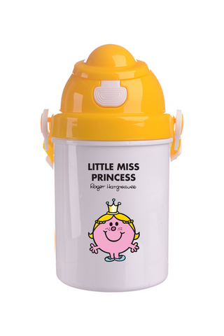 LITTLE MISS PRINCESS PERSONALISED CHILDRENS WATER FLASK