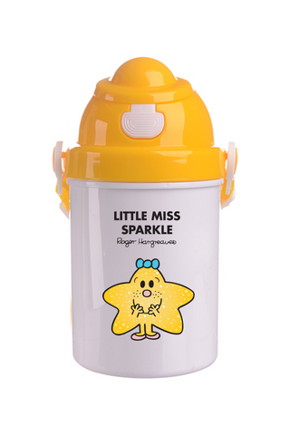 LITTLE MISS SPARKLE PERSONALISED CHILDRENS WATER FLASK