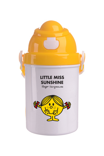 LITTLE MISS SUNSHINE PERSONALISED CHILDRENS WATER FLASK