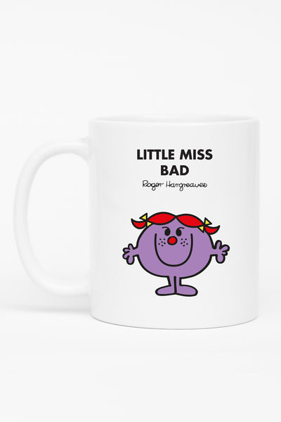 LITTLE MISS BAD PERSONALISED MUG