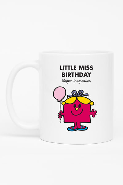 LITTLE MISS BIRTHDAY PERSONALISED MUG