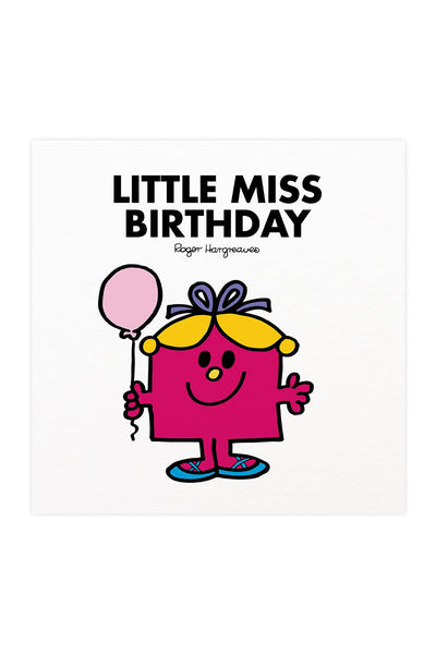 LITTLE MISS BIRTHDAY BOOK