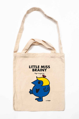 LITTLE MISS BRAINY PERSONALISED TOTE BAG