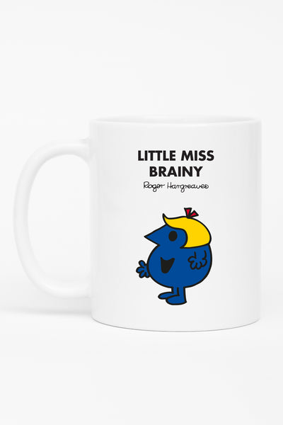 LITTLE MISS BRAINY PERSONALISED MUG