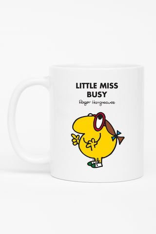 LITTLE MISS BUSY PERSONALISED MUG