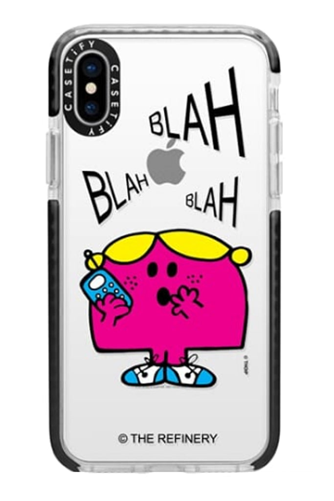 official photos ea43a aac26 LITTLE MISS CHATTERBOX IPHONE CASES BY CASETIFY (XS / XS MAX / XR ...