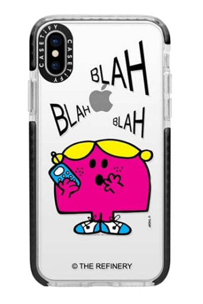 LITTLE MISS CHATTERBOX IPHONE CASES BY CASETIFY (XS / XS MAX / XR)