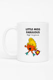 LITTLE MISS FABULOUS PERSONALISED MUG