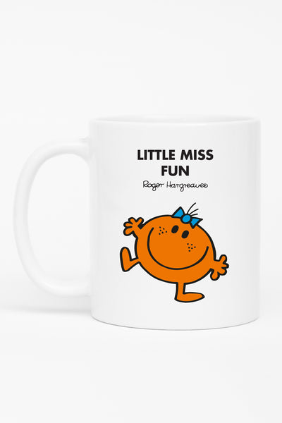 LITTLE MISS FUN PERSONALISED MUG