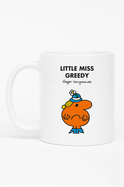 LITTLE MISS GREEDY PERSONALISED MUG