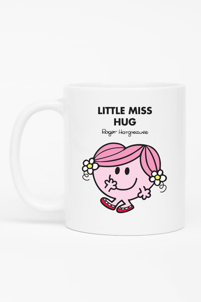 LITTLE MISS HUG PERSONALISED MUG