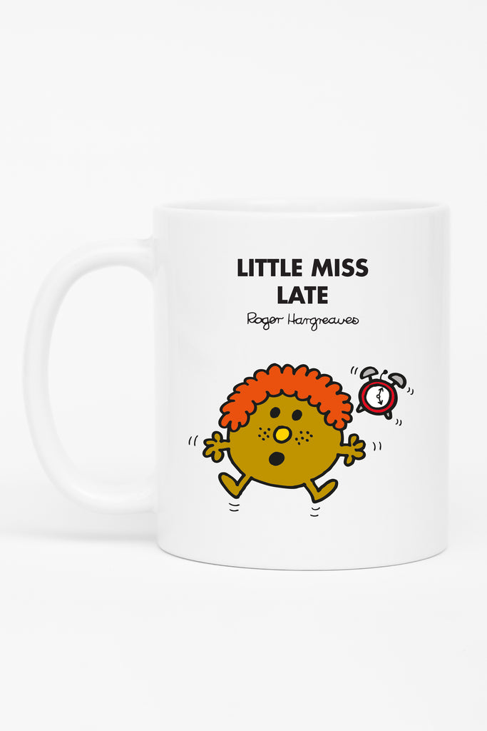 LITTLE MISS LATE PERSONALISED MUG