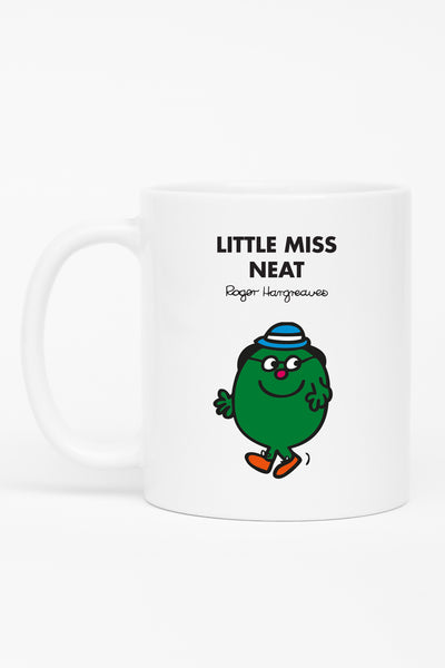 LITTLE MISS NEAT PERSONALISED MUG