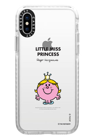 LITTLE MISS PRINCESS PERSONALISED IMPACT PHONE CASE BY CASETIFY