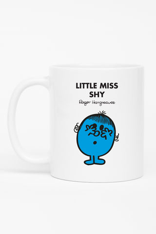 LITTLE MISS SHY PERSONALISED MUG