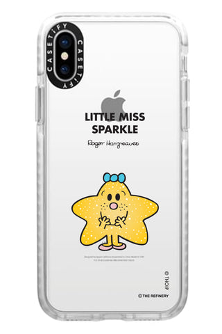 LITTLE MISS SPARKLE PERSONALISED IMPACT PHONE CASE BY CASETIFY