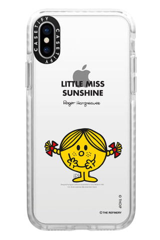 LITTLE MISS SUNSHINE PERSONALISED IMPACT PHONE CASE BY CASETIFY