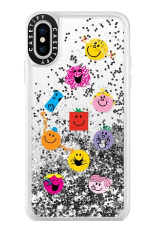 MR. MEN LITTLE MISS GLITTER IPHONE CASES BY CASETIFY (XS / XS MAX / XR)