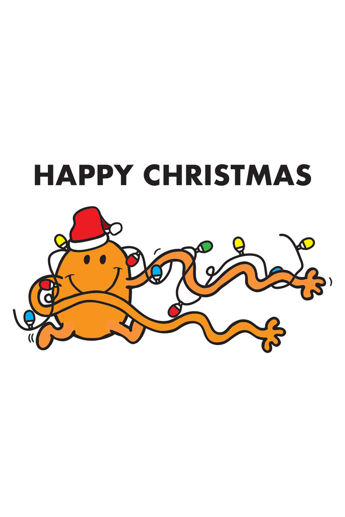 "MR. TICKLE ""HAPPY CHRISTMAS"" CARD"