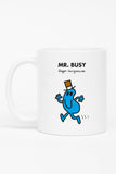 MR. BUSY PERSONALISED MUG
