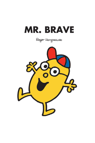 MR. BRAVE PERSONALISED ART PRINT