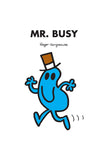 MR. BUSY PERSONALISED ART PRINT