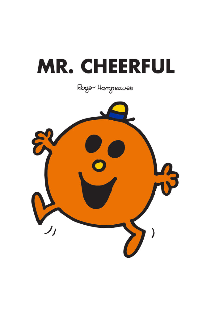 MR. CHEERFUL PERSONALISED ART PRINT