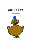 MR. DIZZY PERSONALISED ART PRINT