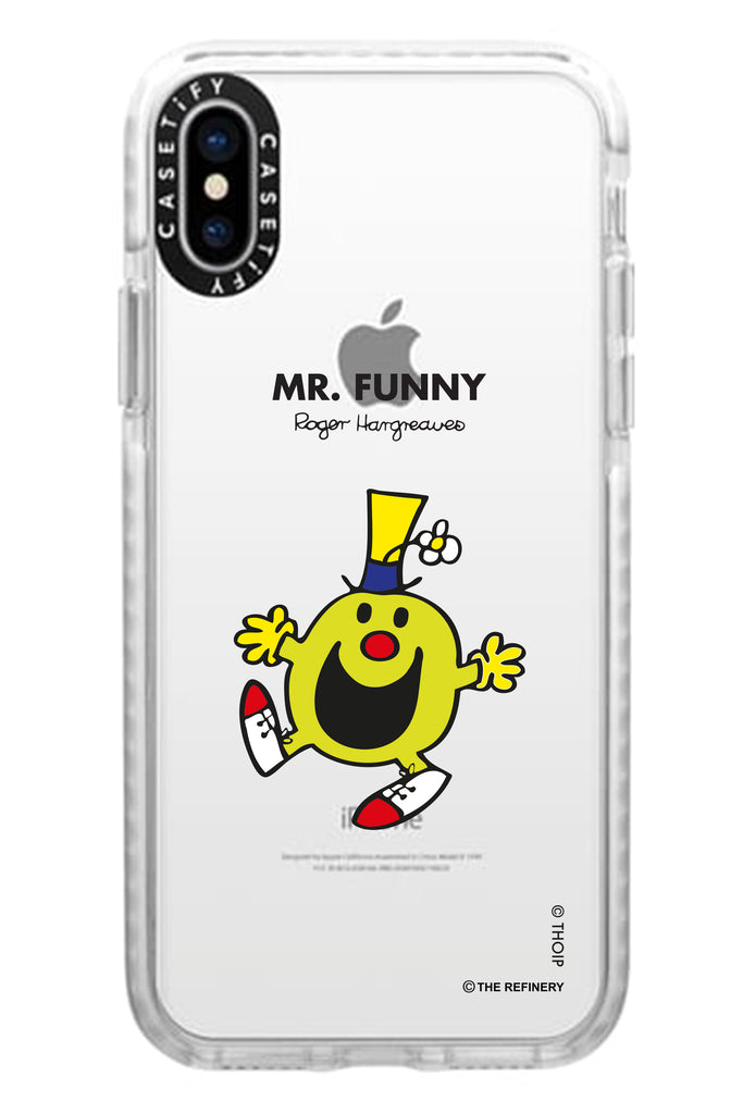 MR. FUNNY PERSONALISED IMPACT PHONE CASE BY CASETIFY