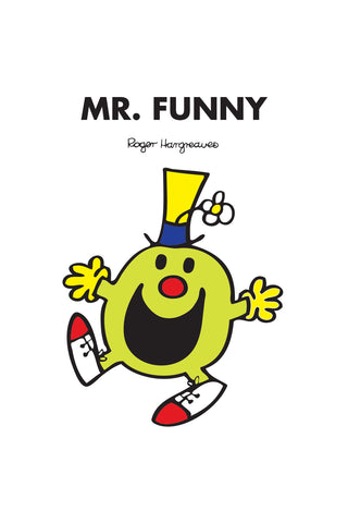 MR. FUNNY PERSONALISED ART PRINT